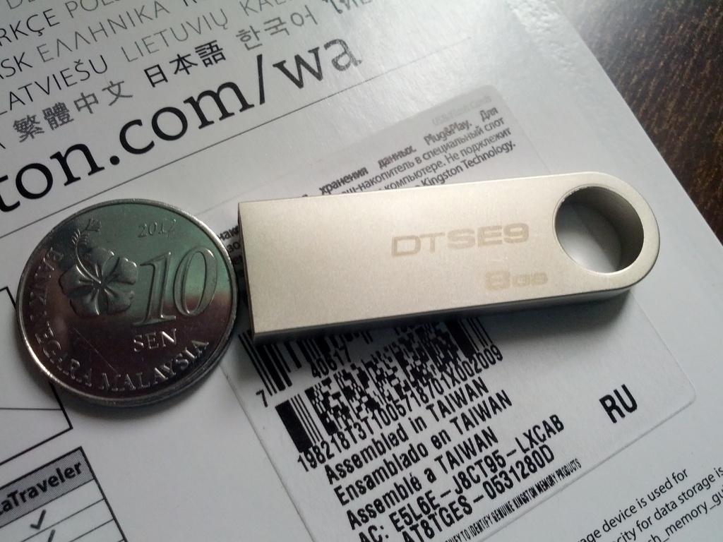 USB Kingston Data Traveler SE9 - 8GB