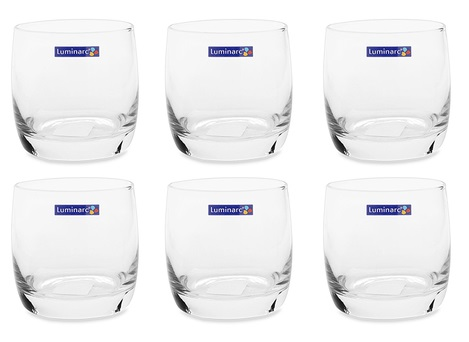 Bộ 6 Ly Thủy Tinh Thấp Luminarc Vigne G2572 - (200ml)