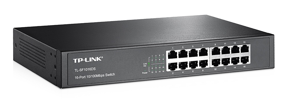 Switch TP-Link -TL-SF1016DS - 16 - Port
