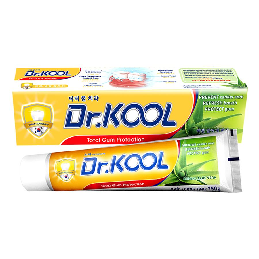 Kem Đánh Răng Dr. Kool Thảo Dược Nha Đam (150g)