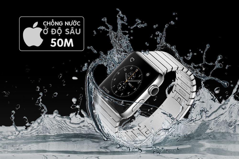 Đồng Hồ Thông Minh Apple Watch Series 2 - 42mm Stainless Steel Case With Silver Link Bracelet - MNPT2VN/A