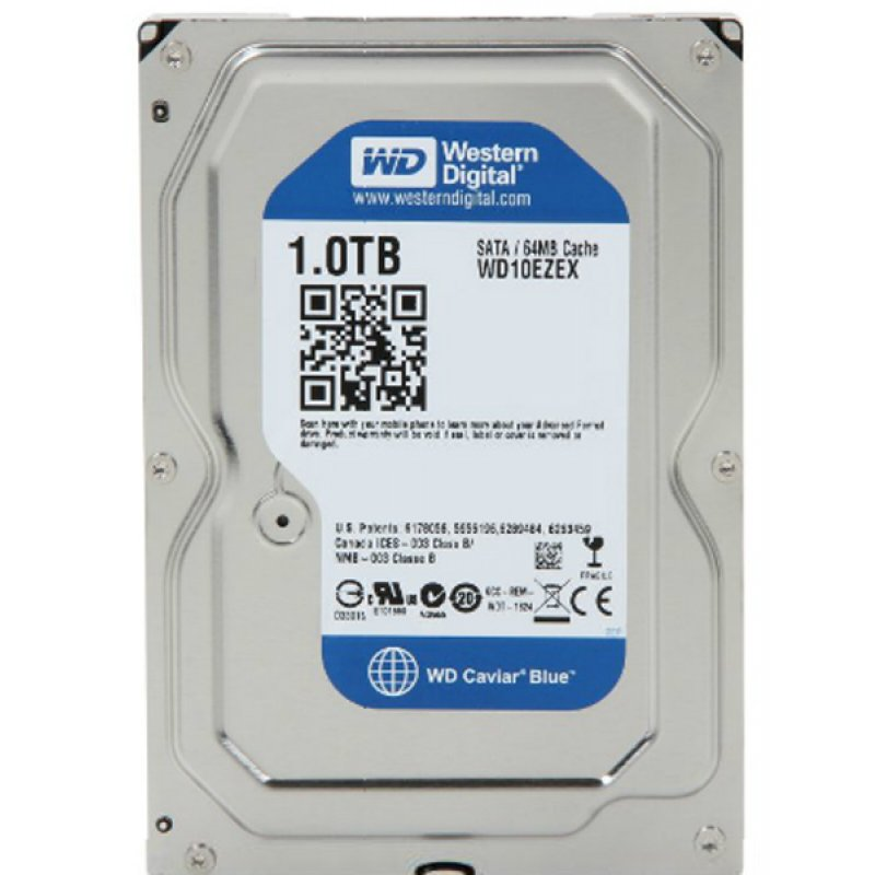"""Ổ Cứng Trong PC WD 1TB 3.5"""" Blue™"""