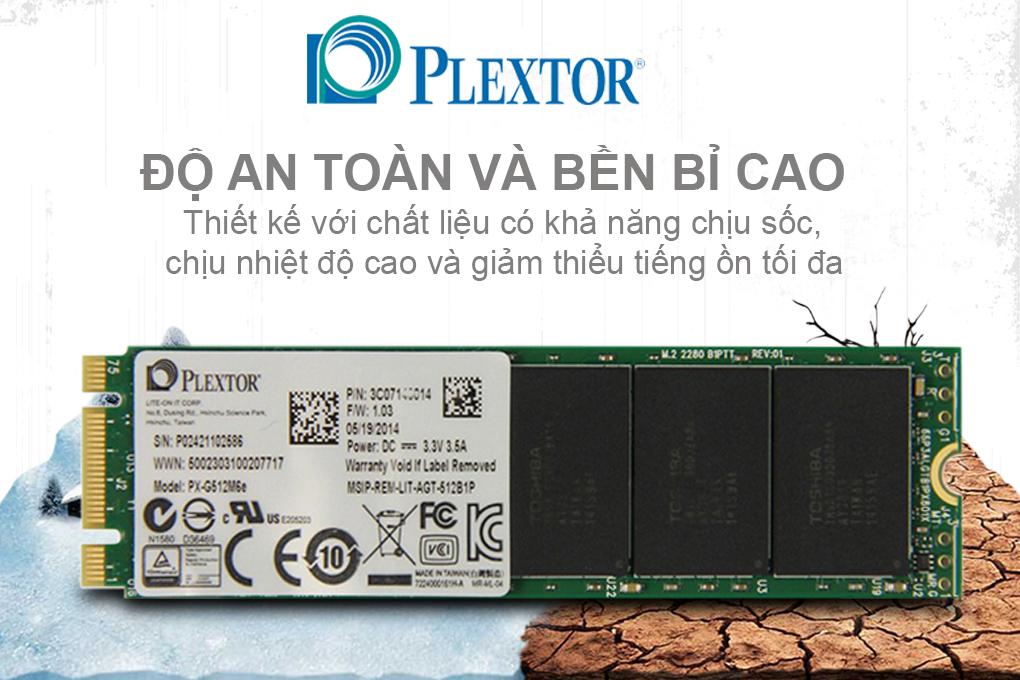 Ổ Cứng SSD Plextor M6e 512GB - PX-G512M6e