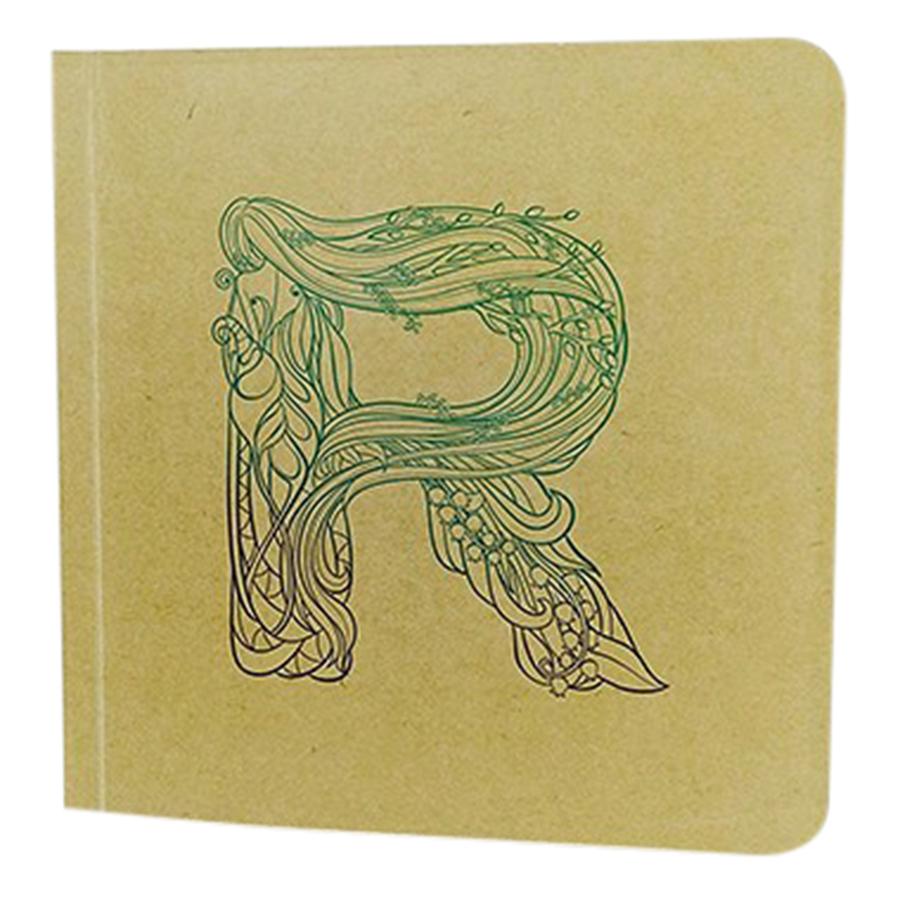 Notebook Bìa Mềm Giấy Kraft - TK18 R