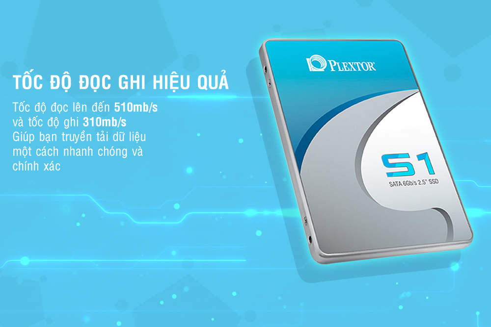 Ổ Cứng SSD Plextor S1C 128GB - PX-128S1C