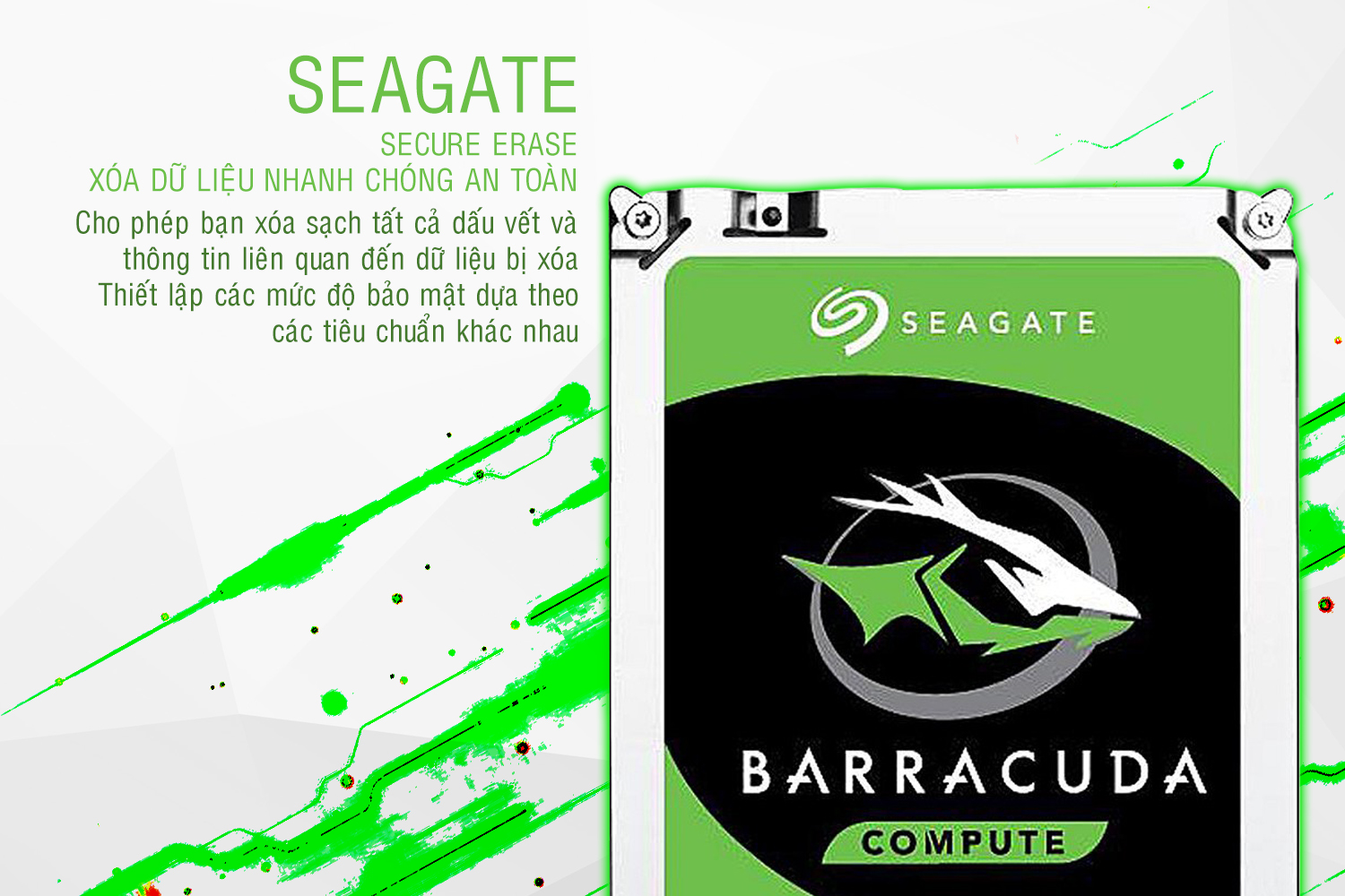 Ổ Cứng Trong Seagate 3TB/64MB/3.5 - ST3000DM008