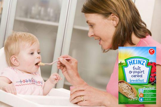 Ngũ Cốc Sữa Chua Trái Cây (125g) - Cho Bé Từ 4 Tháng Trở Lên