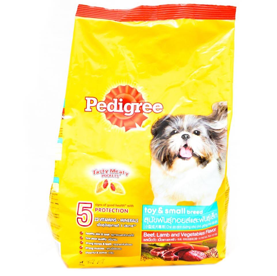 hức Ăn Cho Chó Vị Thịt Bò Và Các Loại Rau Củ Pedigree Dạng Túi 1.5kg