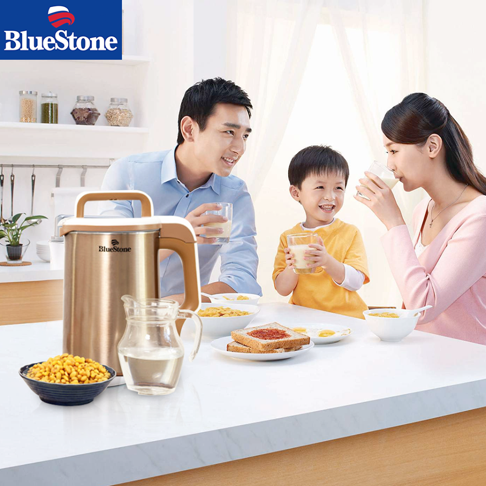 Máy Làm Sữa Đậu Nành BLUESTONE SMB-7391 - 1.3L (Vàng Đồng)