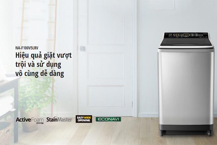 Máy Giặt Cửa Trên Panasonic NA-F100V5LRV (10kg) - Bạc