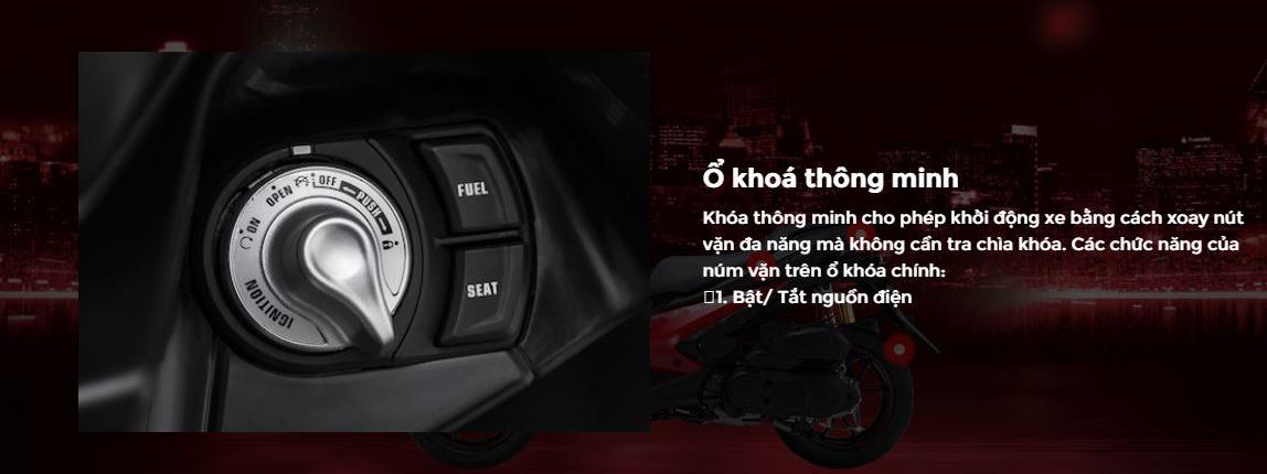 Xe Yamaha NVX 155 Premium - Đen Nhám