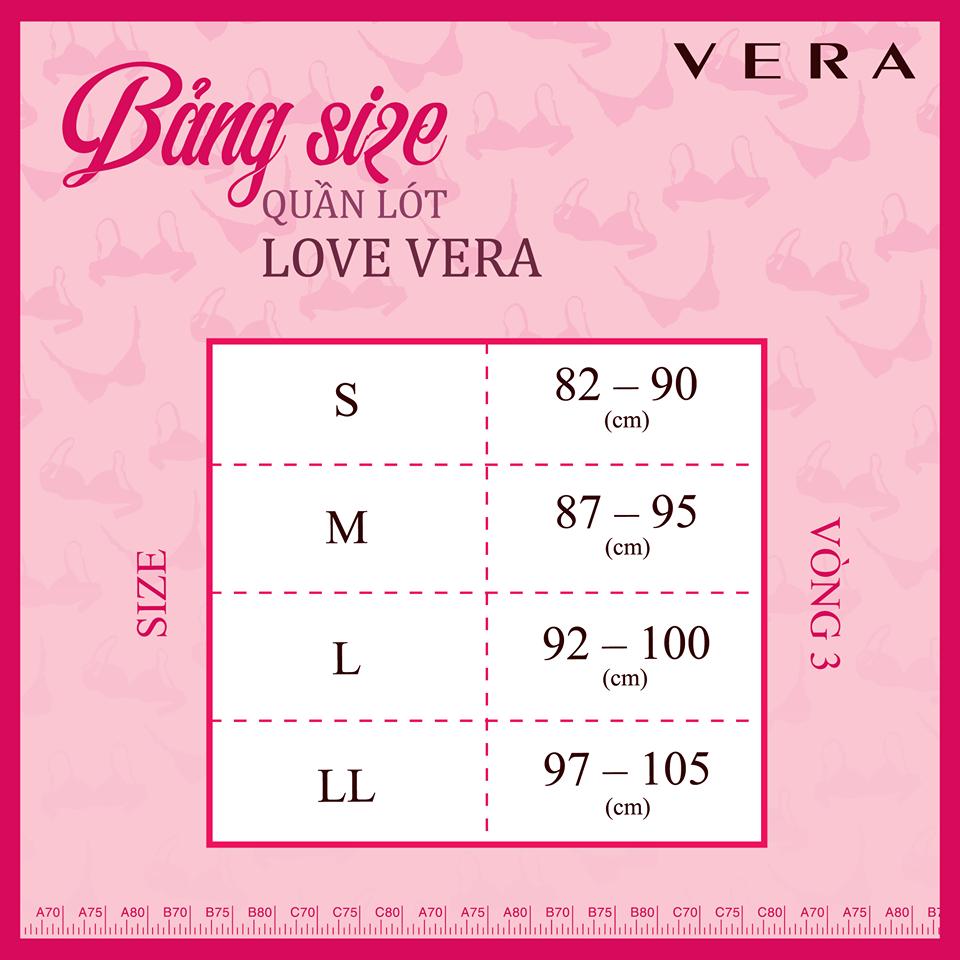 Túi 2 Quần Lót Vera Bikini 6323 - Da, Đen