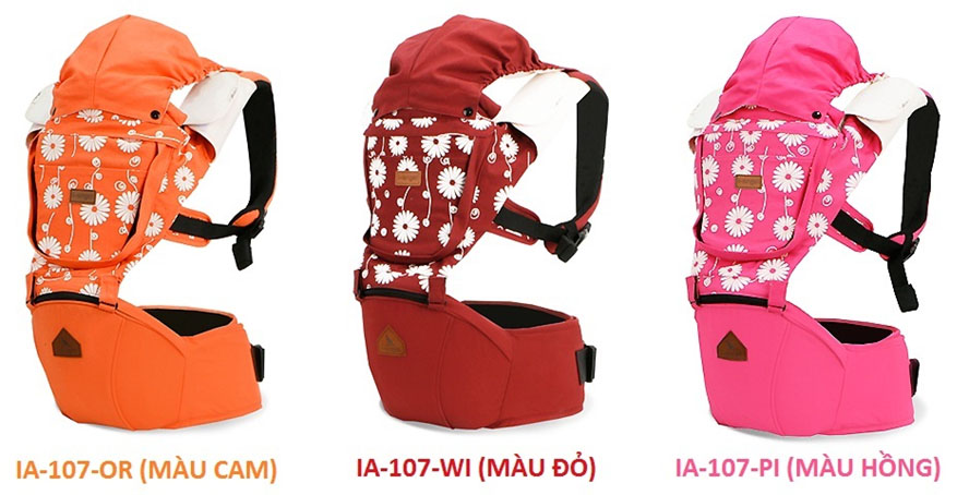 Địu Em Bé i-Angel Irene Hipseat Carrier IA-107