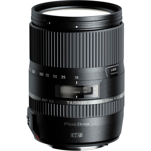 Lens Tamron 16-300mm F/3.5-6.3 Di II VC PZD For Canon
