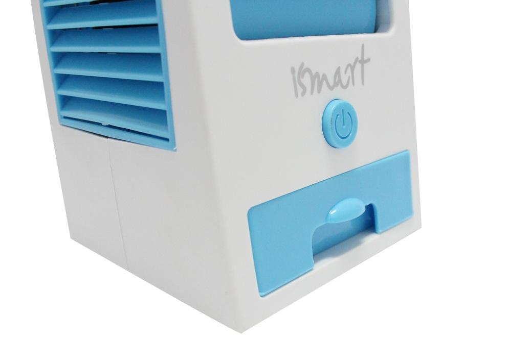 Quạt Đá Mini Smart IM-1000 - Xanh Dương - Hàng chính hãng
