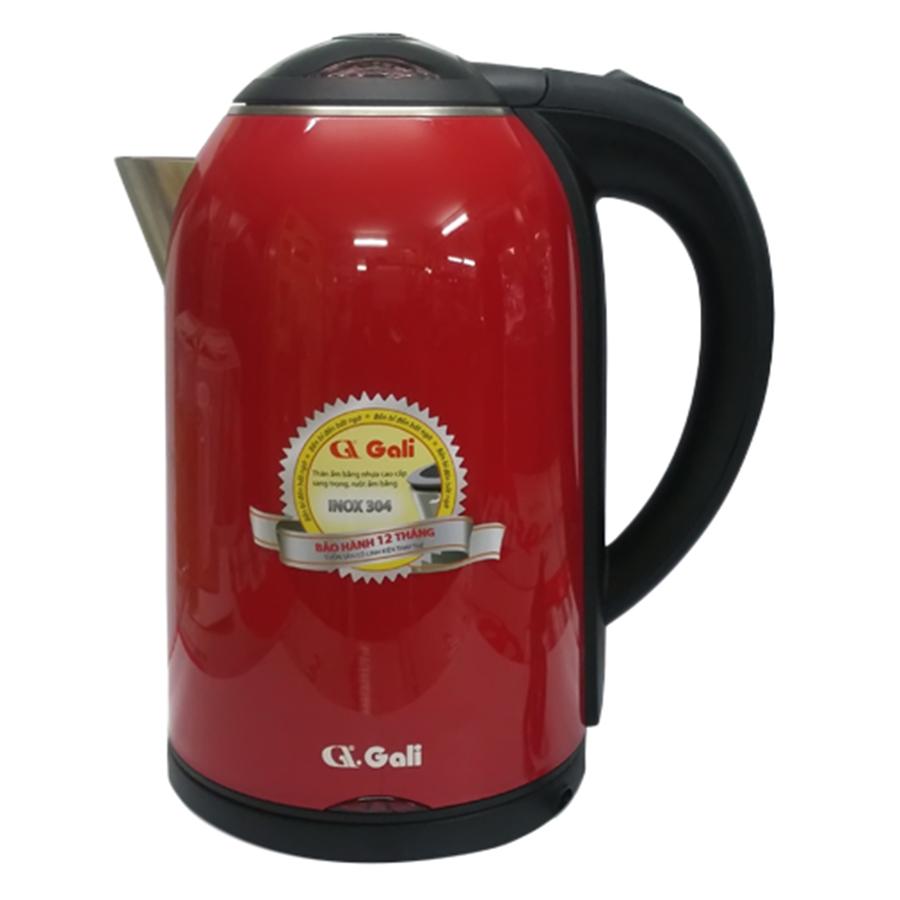 Bình Đun Nước Gali GL-0017C (1.7 lít) - Đỏ - Hàng chính hãng