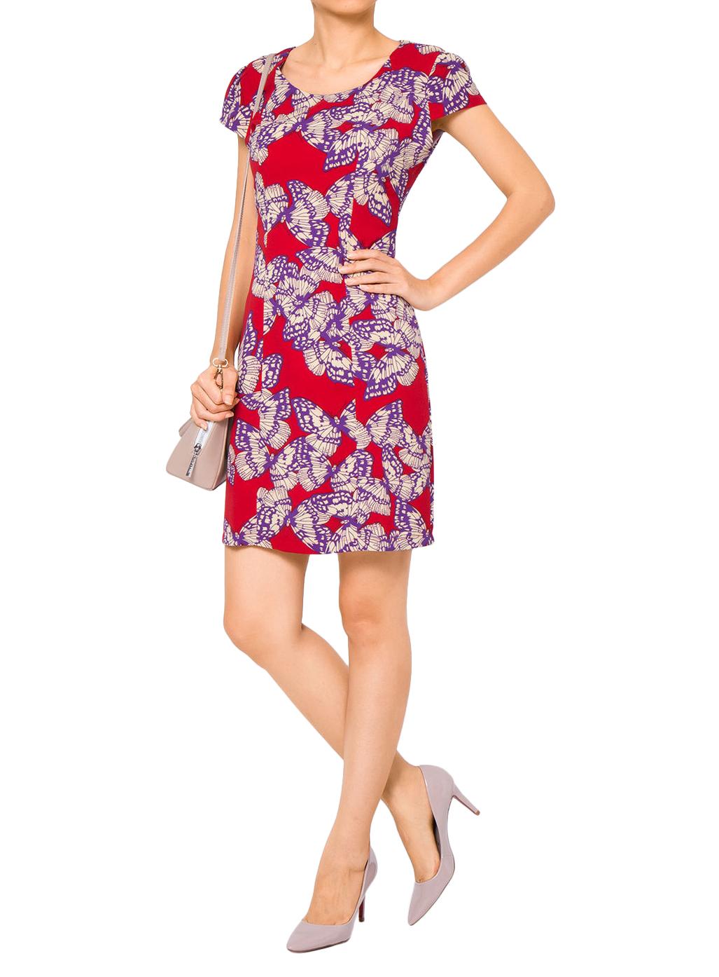 Đầm Ôm NT Fashion Họa Tiết Hình Bướm 179X BUOM - 01