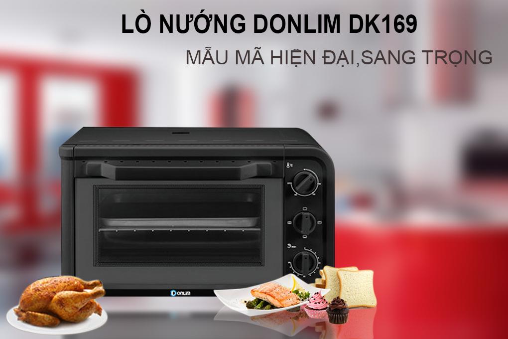 Lò Nướng Donlim DK169 - 18L (Đen)