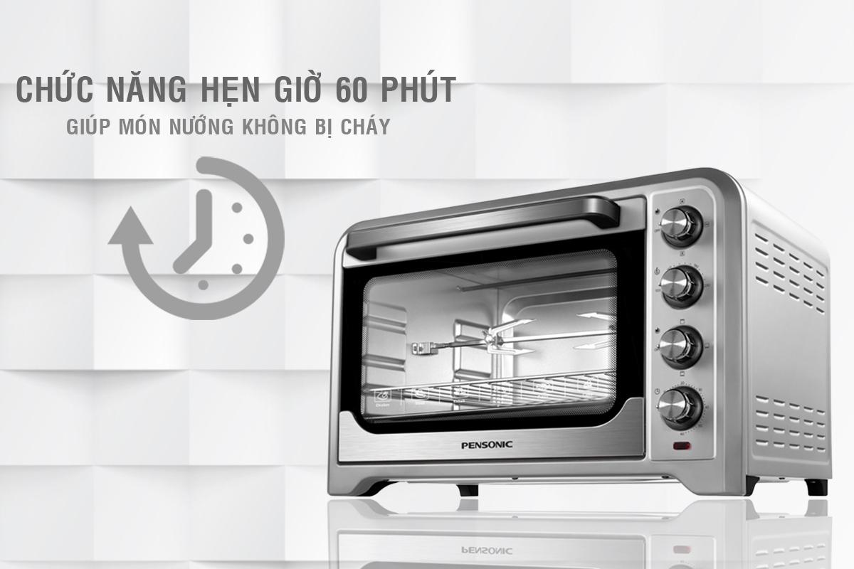 Lò Nướng Pensonic PEO-3803G – 38L