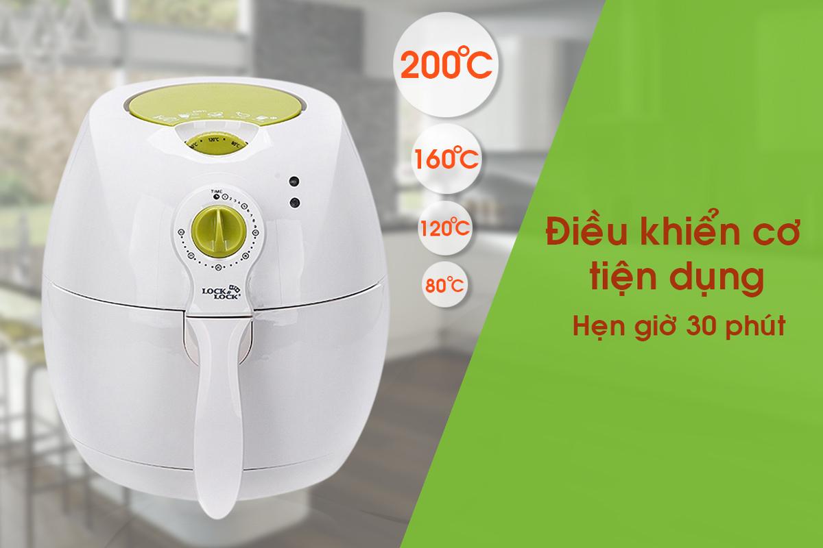 Nồi Chiên Lock&Lock Eco Fryer LO-ECF-202WS