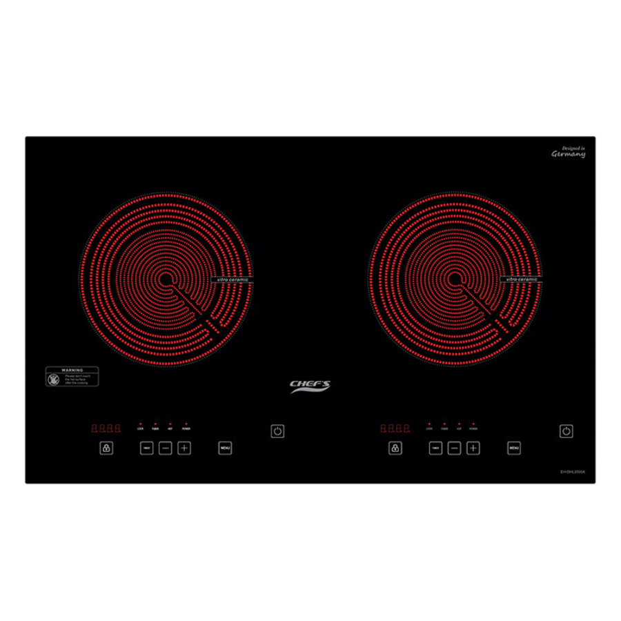 Bếp Hồng Ngoại Đôi Chef's EH-DHL2000A (3400W) - Hàng chính hãng