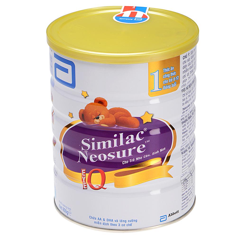 Sữa Bột Abbott Similac Neosure IQ SNVLA (850g)