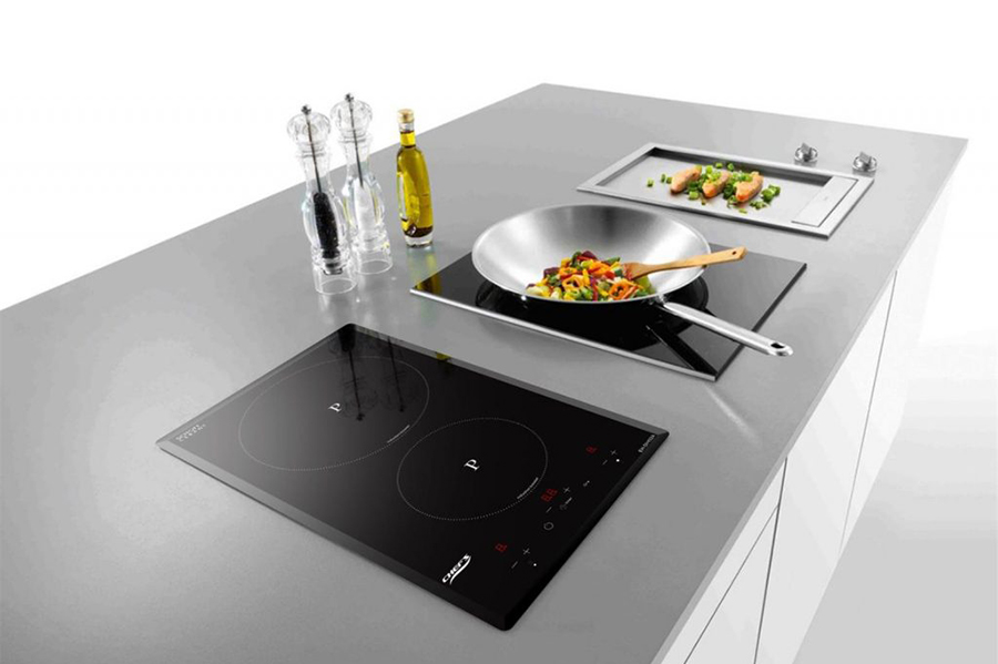 Bếp Từ Đôi Domino Chef's EH-DIH32A (3400W) - Hàng chính hãng