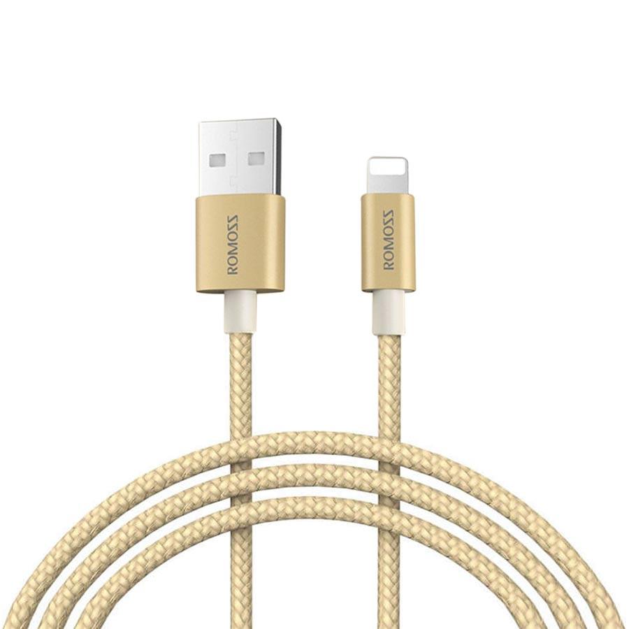 Dây Cáp Sạc iPhone, iPad Romoss Lightning Bọc Nylon (1m) - Hàng Chính Hãng - 1351056006904,62_638592,550000,tiki.vn,Day-Cap-Sac-iPhone-iPad-Romoss-Lightning-Boc-Nylon-1m-Hang-Chinh-Hang-62_638592,Dây Cáp Sạc iPhone, iPad Romoss Lightning Bọc Nylon (1m) - Hàng Chính Hãng