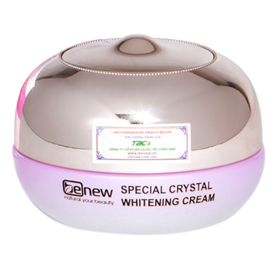Kem Dưỡng Trắng Da Benew Special Crystal Whitening Cream (50ml)