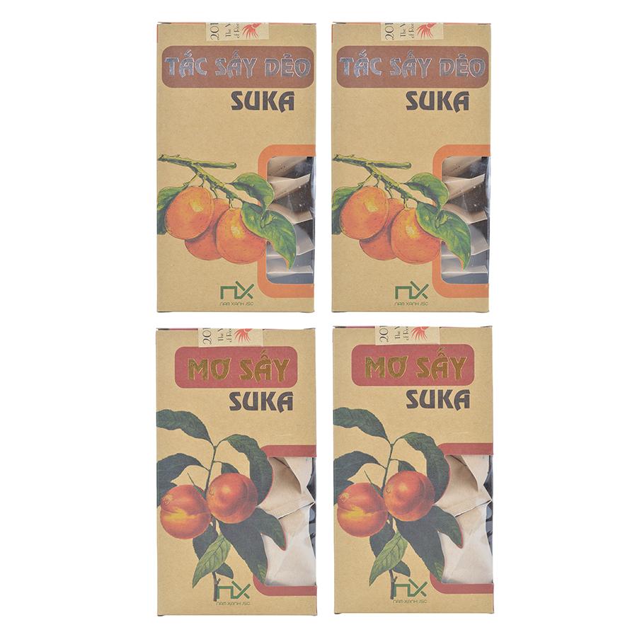 Combo Trái Cây Sấy Suka Nam Xanh: 2 Hộp Mơ (14 Viên / Hộp) + 2 Hộp Tắc (10 Miếng / Hộp) - 3783871529746,62_896780,203000,tiki.vn,Combo-Trai-Cay-Say-Suka-Nam-Xanh-2-Hop-Mo-14-Vien--Hop-2-Hop-Tac-10-Mieng--Hop-62_896780,Combo Trái Cây Sấy Suka Nam Xanh: 2 Hộp Mơ (14 Viên / Hộp) + 2 Hộp Tắc (10 Miếng / Hộp)