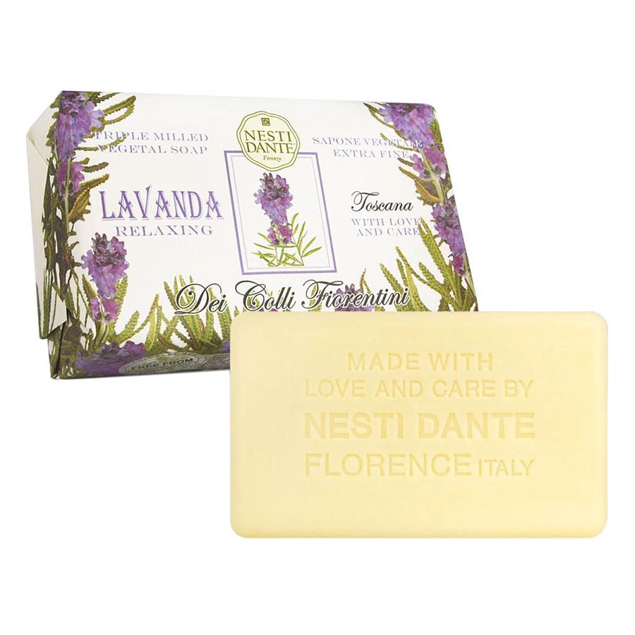 Xà Phòng Tắm Nesti Dante Dei Colli Fiorentini Tuscan Lavender (250g)
