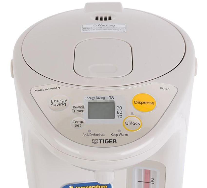 Bình Thủy Điện Tử Tiger PDR-S30W - 3L