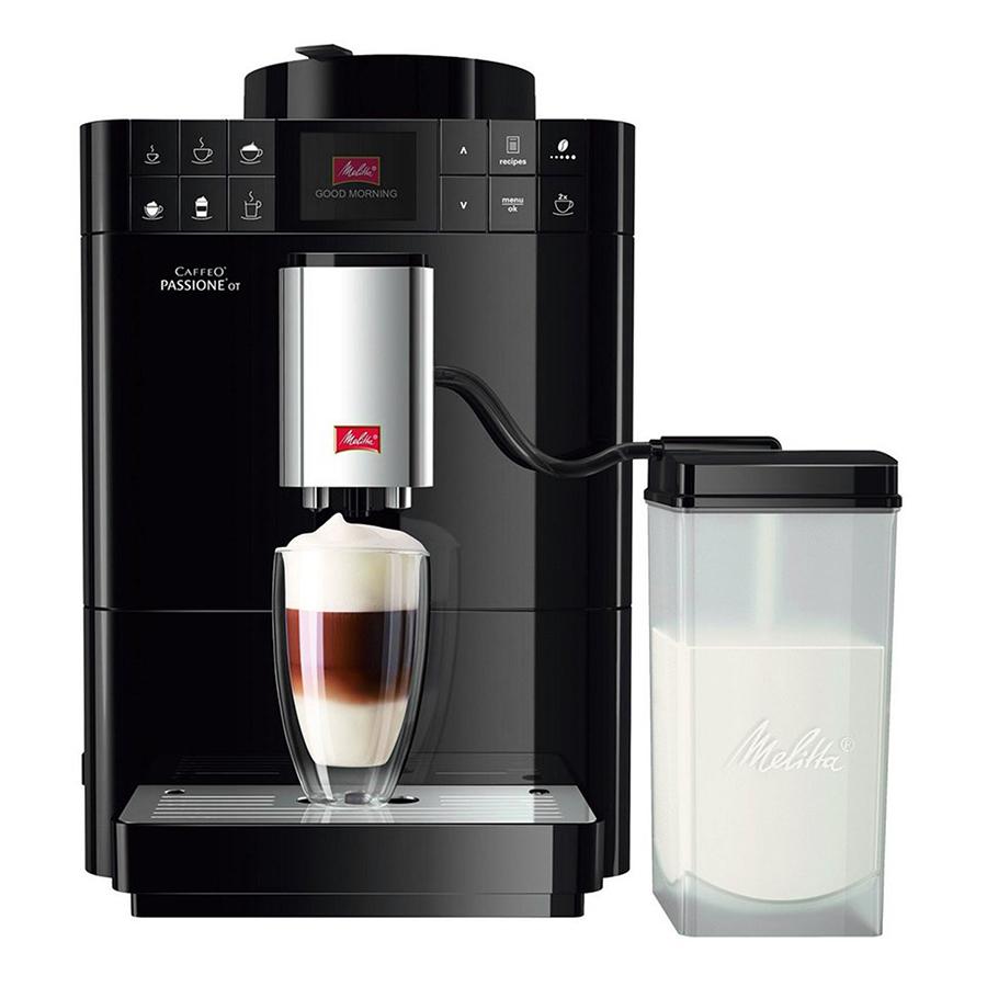Máy Pha Cà Phê Melitta Đức -  Caffeo Passione OT Đen - Hàng nhập khẩu