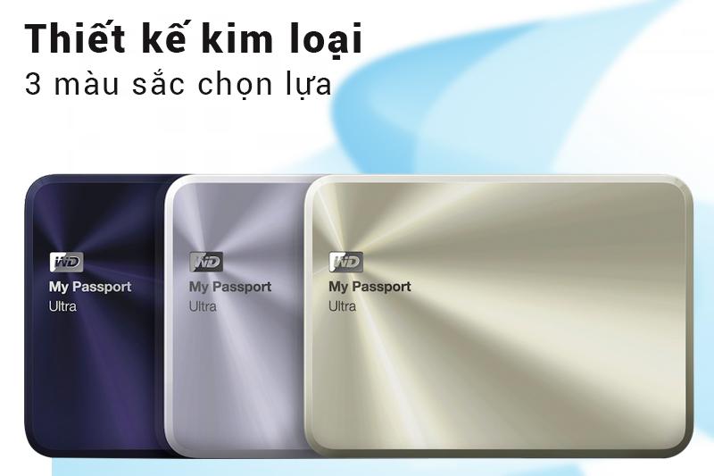 Ổ Cứng Di Động WD My Passport Ultra Metal 1TB APAC