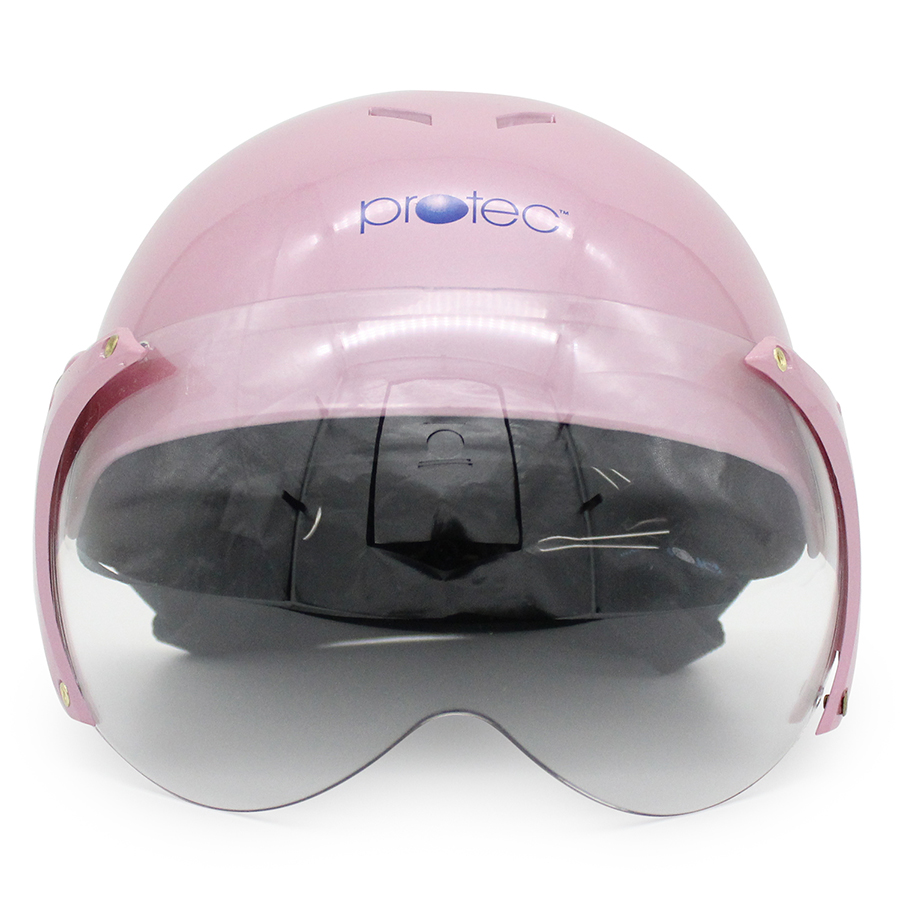 Mũ Bảo Hiểm Trẻ Em 2 Màu Có Kính Protec Kitty S - KSWFK