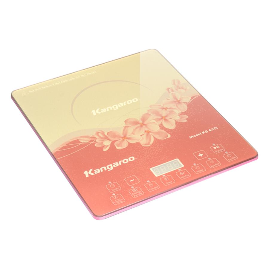 Bếp Điện Từ Đơn Siêu Mỏng Kangaroo KG410I (2100W) - Hồng - Hàng chính hãng
