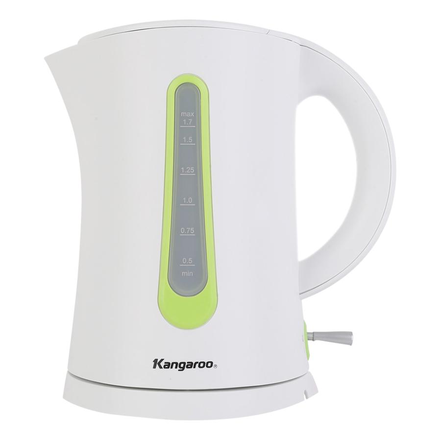 Ấm Đun Siêu Tốc Kangaroo KG638 (1.7L) - Trắng - Hàng chính hãng