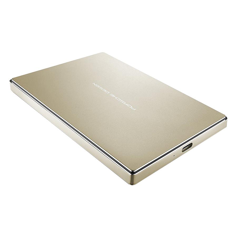 Ổ Cứng LaCie Porsche Design 2.5 P'9227 USB 3.1 2TB STFD2000403 (Vàng) - Hàng Chính Hãng