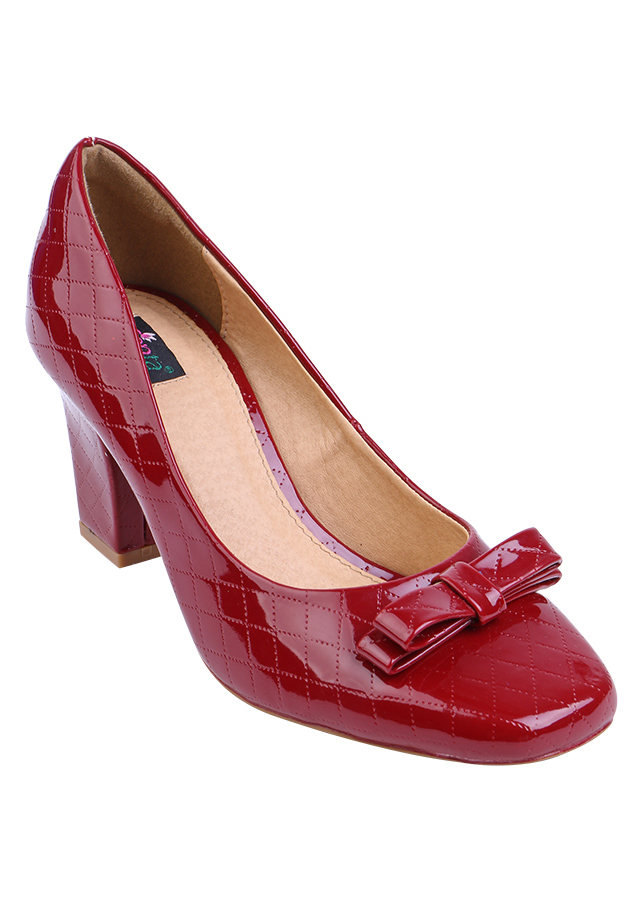 Giày Nữ Bít Mũi Đính Nơ Shinno U161 - Đỏ - 4864166237627,62_766139,415000,tiki.vn,Giay-Nu-Bit-Mui-Dinh-No-Shinno-U161-Do-62_766139,Giày Nữ Bít Mũi Đính Nơ Shinno U161 - Đỏ