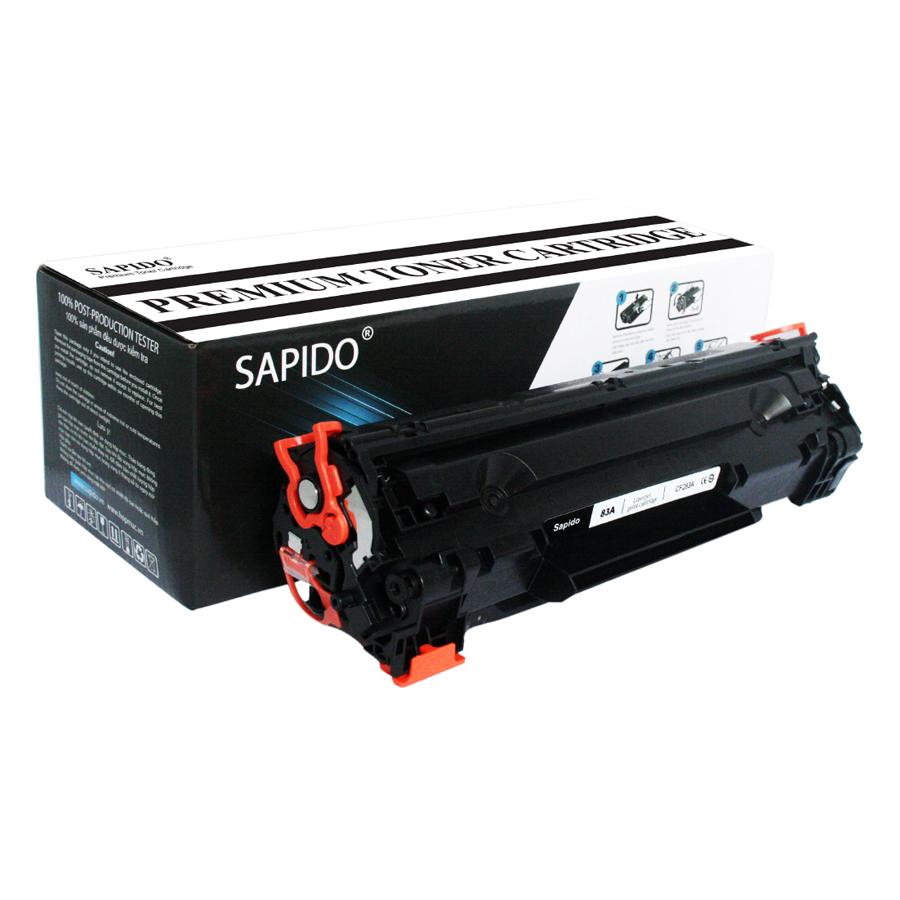 Hộp Mực In Sapido 83A (CF283A) Cho Máy In HP M127FN, HP M125, HP M225MFP, Canon 221D, Canon 151DW - Hàng Chính Hãng