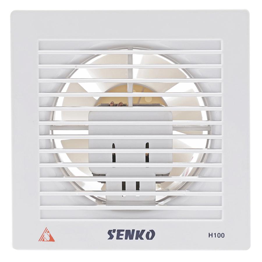 Quạt Hút Thông Gió Senko H100 (25W) - Trắng - Hàng Chính Hãng