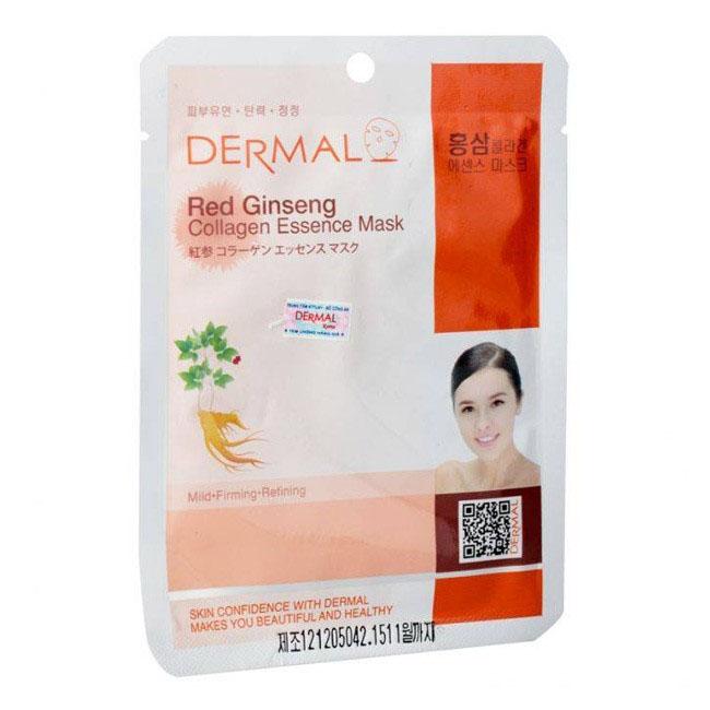 Mặt Nạ Dermal Tinh Chất Collagen Với Chiết Xuất Hồng Sâm