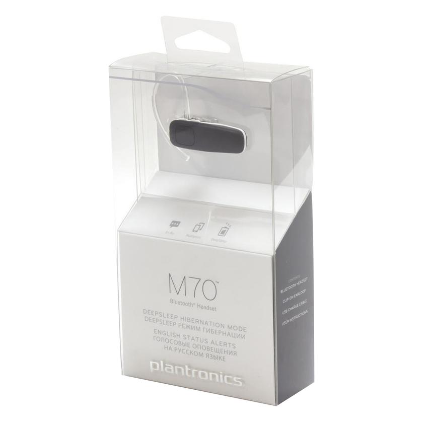 Tai Nghe Bluetooth Đàm Thoại Plantronics M70 - Hàng Chính Hãng