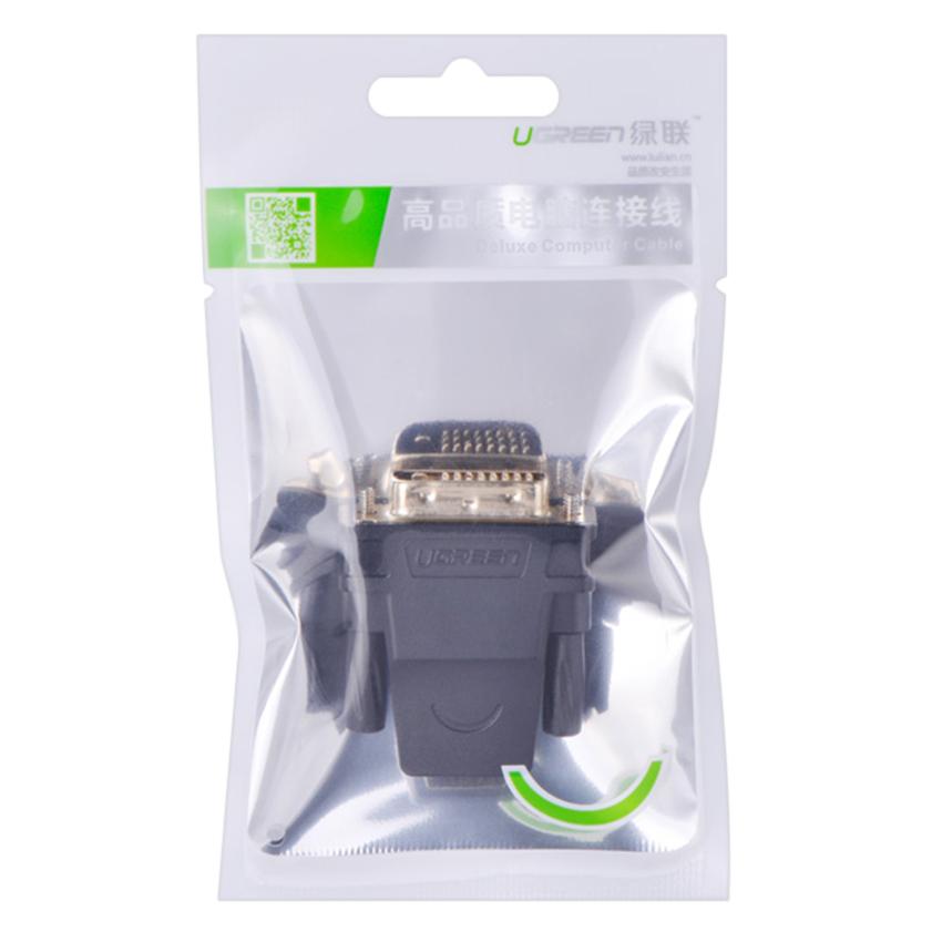Đầu Chuyển Đổi HDMI Sang DVI Ugreen 20124 - Hàng chính hãng