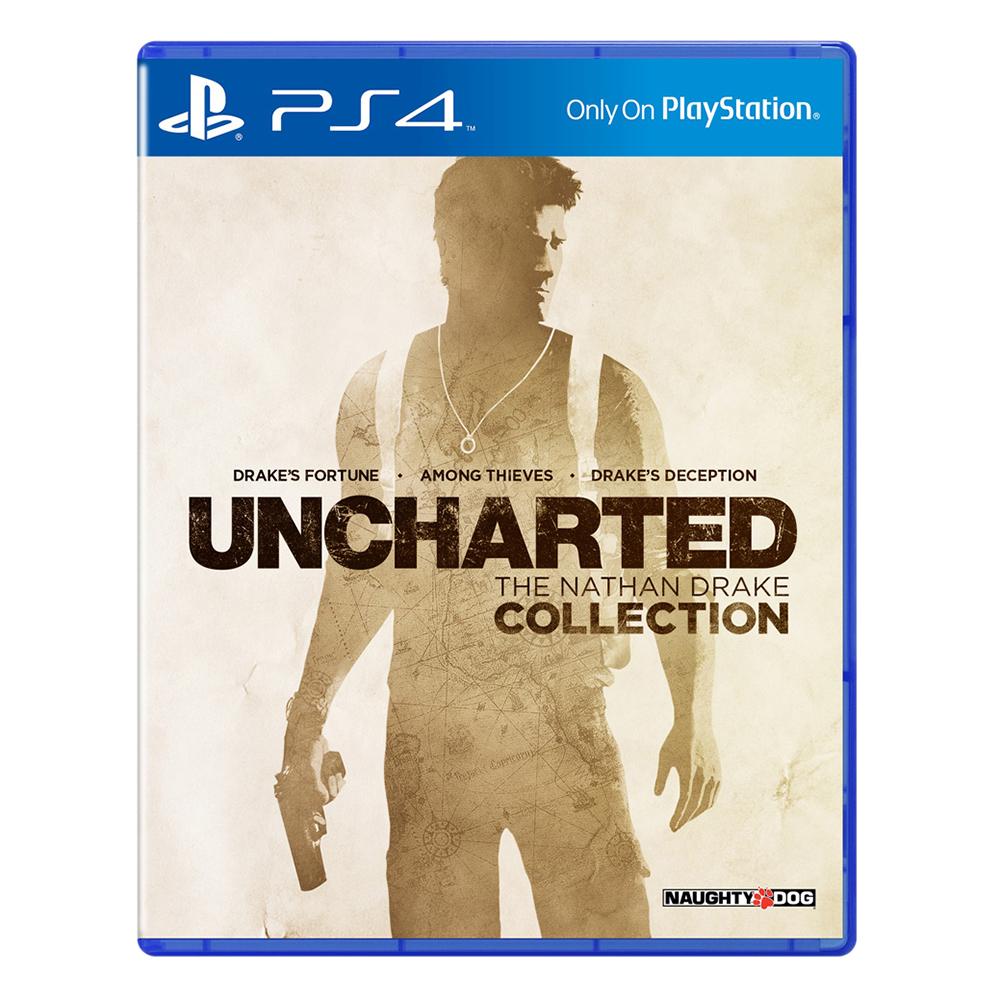 Đĩa Game Sony PS4 - Uncharted: The Nathan Drake Collection - Hàng Nhập Khẩu