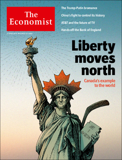 The Economist: Liberty Moves North - 44