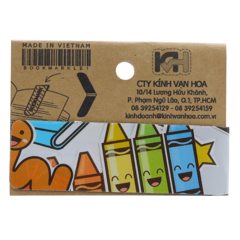 Bookmark Nam Châm Kính Vạn Hoa - Bút Chì Crayon