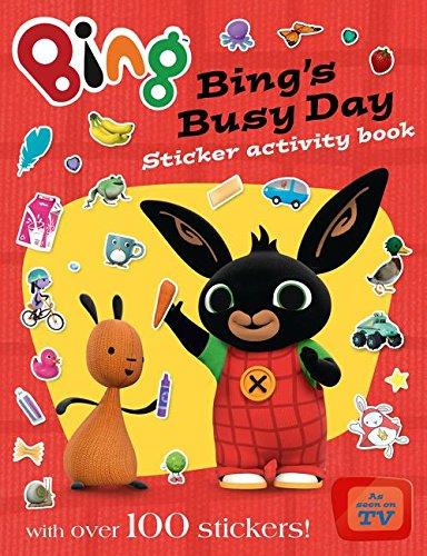 Bing's Busy Day Sticker Activity Book (Bing Series Book #3)