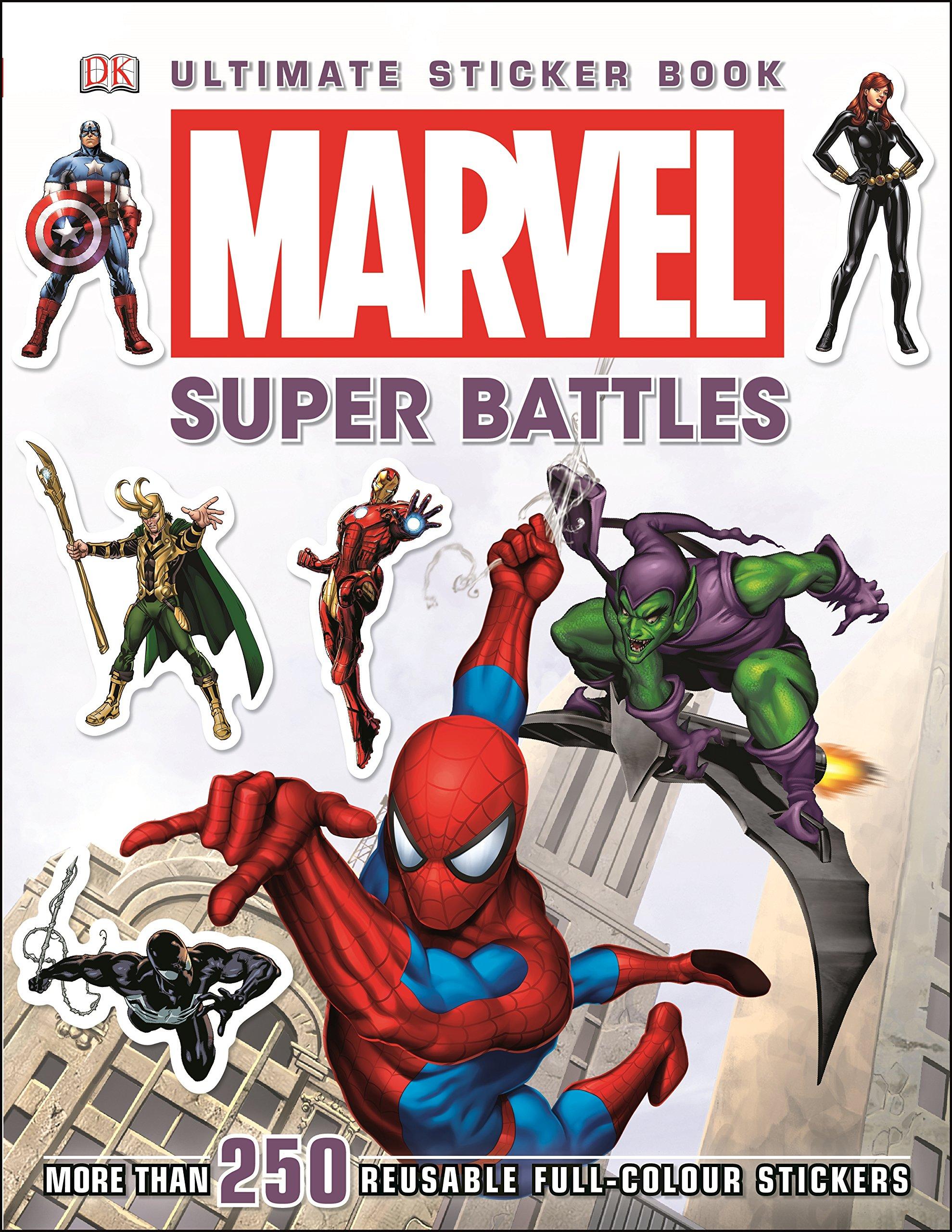 Marvel Ultimate Sticker Book: Super Battles - 9781409349051,62_201745,165000,tiki.vn,Marvel-Ultimate-Sticker-Book-Super-Battles-62_201745,Marvel Ultimate Sticker Book: Super Battles