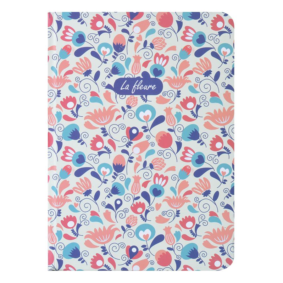 Sổ Tay Kẻ Ngang Crabit Notebuck La Fleur 1002d (17.5 x 12.5 cm)